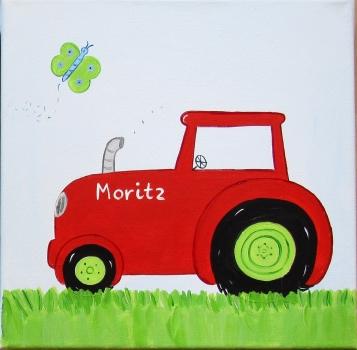 Suan Bilder Traktor Trecker Kinderzimmer Bild