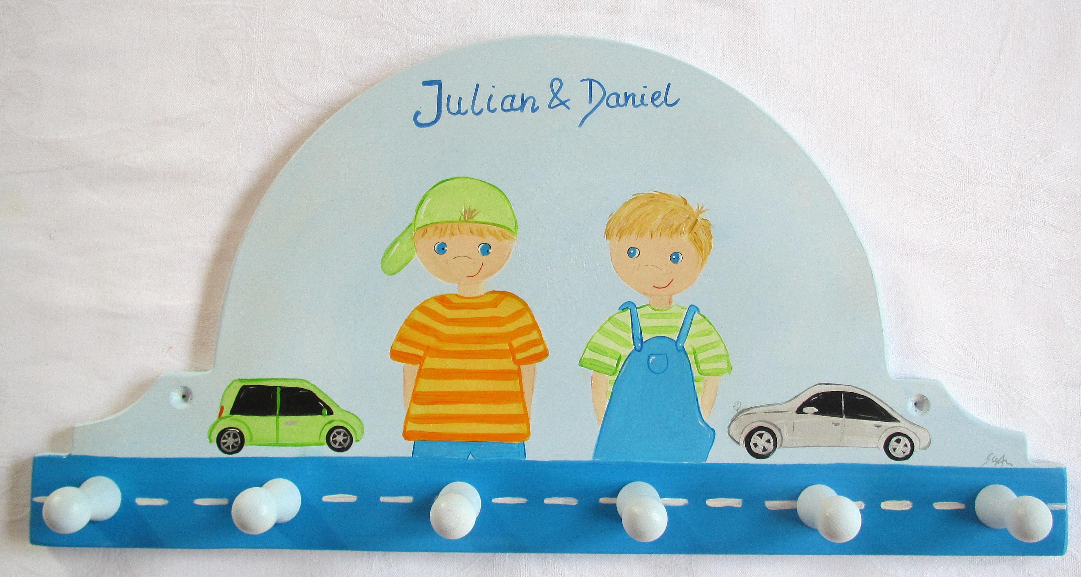 Suan Bilder Kindergarderobe Mit Autos